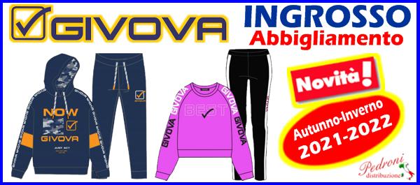 GIVOVA ingrosso abbigliamento t-shirt magliette tshirt GIVOVA ingrosso produttore GIVOVA abbigliamento distributore grossista GIVOVA magliette t-shirt tute felpe GIVOVA