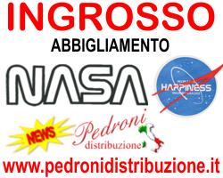 NASA INGROSSO MAGLIETTE TSHIRT PRODUZIONE PRODUTTORE HAPPINESS NASA