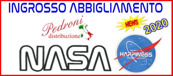 NASA HAPPINESS ingrosso abbigliamento t-shirt magliette tshirt NASA ingrosso produttore