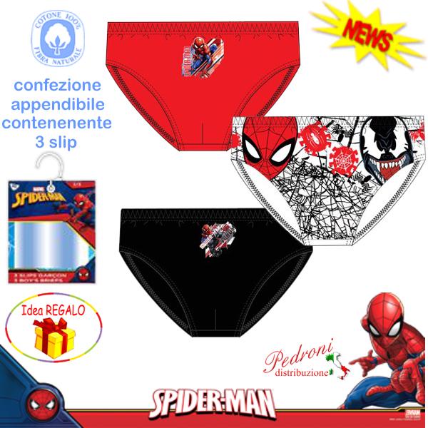 tris slip spiderman 2//3 anni
