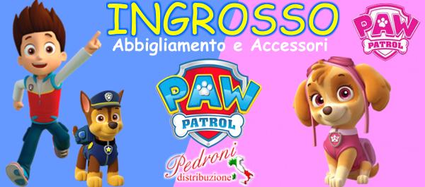 ingrosso abbigliamento e accessori PAW PATROL