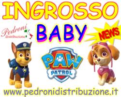 PAW PATROL ingrosso abbigliamento e accessori baby