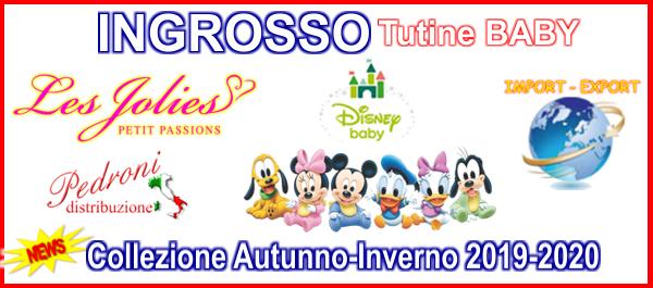 INGROSSO PRODUTTORE CINIGLIA TUTINE BABY DISNEY les jolies