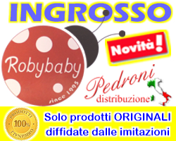 ROBY BABY ingrosso distributore accessori baby