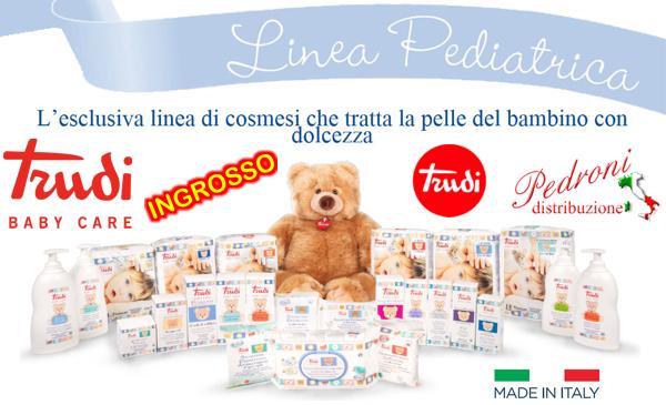 TRUDI ingrosso articoli puericultura baby articoli regalo per l'infanzia TRUDI BABY CARE ingrosso produttore distributore per negozi